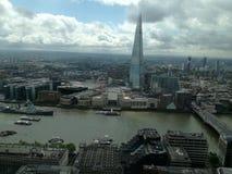 Vista di Londra dal giardino del cielo Fotografie Stock