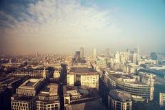 Vista di Londra, Regno Unito Fotografia Stock Libera da Diritti