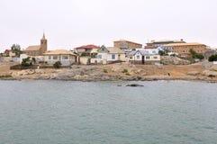 Vista di Luderitz in Namibia immagini stock libere da diritti