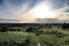 Vista di Luton Immagine Stock