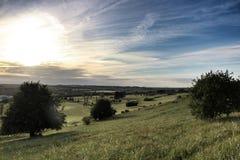 Vista di Luton Fotografie Stock Libere da Diritti