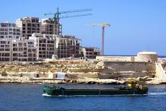 Vista di Malta Fotografia Stock