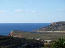 Vista di Malta Fotografia Stock Libera da Diritti