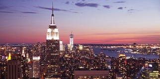 Vista di Manhattan Fotografie Stock