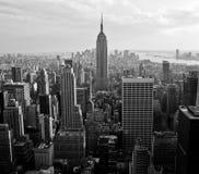 Vista di Manhattan del centro Fotografia Stock Libera da Diritti