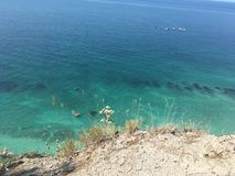Vista di Mar Nero Immagini Stock
