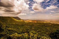 Vista di Mara masai Fotografia Stock