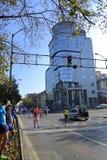 Vista di maratona della città di Sofia Fotografia Stock Libera da Diritti