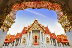 Vista di marmo del tempio Immagini Stock Libere da Diritti