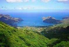 Vista di Marquesas Fotografia Stock Libera da Diritti