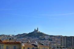 Vista di Marsiglia Fotografia Stock