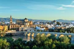 Vista di mattina di Cordova, Spagna Fotografie Stock Libere da Diritti