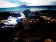 Vista di Maui Immagine Stock