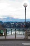 Vista di mesto di Novo Fotografie Stock