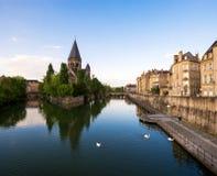 Vista di Metz Fotografia Stock