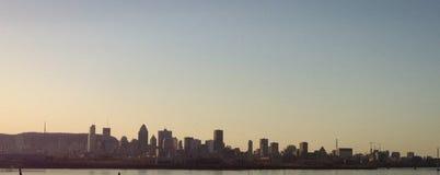 Vista di Montreal Fotografie Stock Libere da Diritti