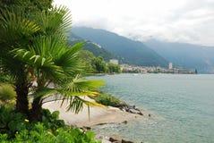 Vista di Montreux Fotografia Stock