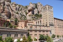 Vista di Montserrat Immagine Stock