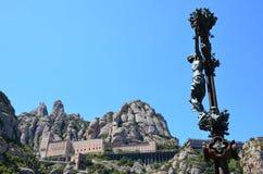 Vista di Montserrat Immagine Stock Libera da Diritti