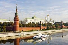 Vista di Mosca Kremlin Fotografie Stock
