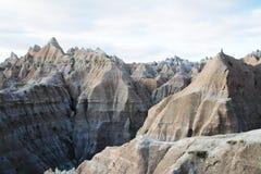 Vista di Moutains di bella scogliera Immagine Stock