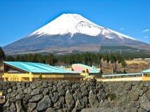 Vista di Mt Fuji fotografia stock