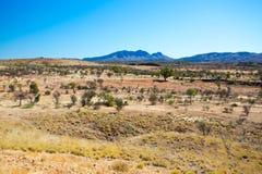 Vista di Mt Zeil immagini stock libere da diritti
