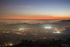Vista di Mtn di eco Fotografia Stock