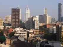 Vista di Mumbai del sud in India Immagini Stock