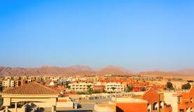 Vista di Nabq in Sharm el-Sheikh Immagine Stock Libera da Diritti