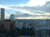 Vista di Nakameguro Immagine Stock Libera da Diritti