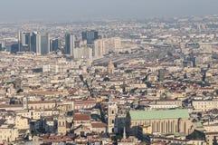 Vista di Napoli, campania, Italia, Europa Immagine Stock