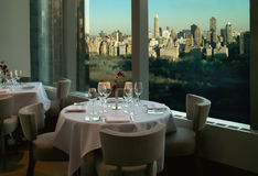 Vista di New York City Immagini Stock