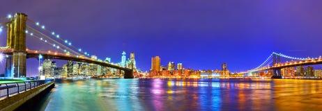 Vista di New York City Fotografia Stock Libera da Diritti