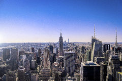 Vista di New York City Immagine Stock
