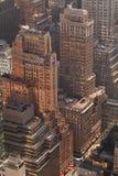 Vista di New York dalla parte superiore della roccia Fotografia Stock Libera da Diritti