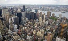 Vista di nordest di Manhattan fotografia stock
