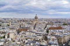 Vista 03 di Notre-Dame Fotografia Stock Libera da Diritti