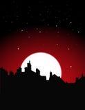 Vista di notte Fotografia Stock