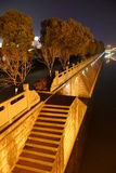 Vista di notte Immagine Stock