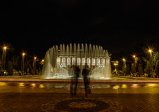 Vista di notte Fotografie Stock