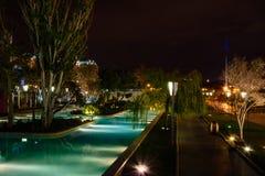 Vista di notte Fotografie Stock Libere da Diritti