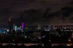 Vista di notte di Bangkok Immagini Stock