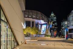 Vista di notte del 1 centro dorato famoso Fotografie Stock Libere da Diritti