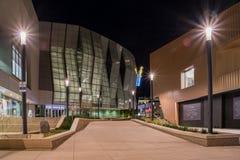 Vista di notte del 1 centro dorato famoso Fotografia Stock Libera da Diritti