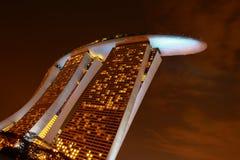 Vista di notte dell'hotel delle sabbie Fotografia Stock