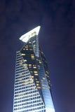 Vista di notte dell'hotel di Winstin Immagini Stock Libere da Diritti