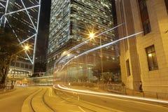 Vista di notte della costruzione del consiglio legislativo Fotografia Stock Libera da Diritti