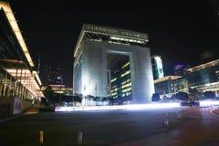 Vista di notte della Doubai Immagine Stock Libera da Diritti