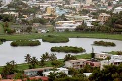 Vista di Noumea, Nuova Caledonia Immagini Stock